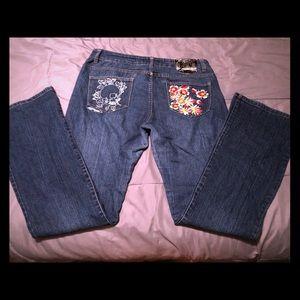 Ed Hardy by Christian Audigier jeans Size 13/14